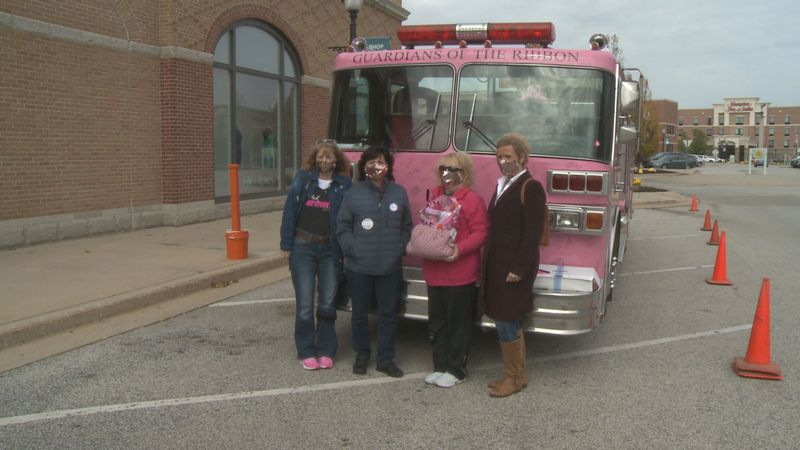 Shoppers who donated to the Pink Project got half off their final purchase.