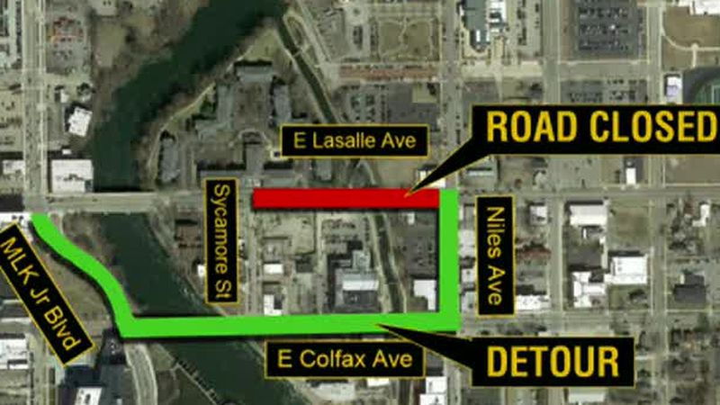 LaSalle Avenue closing Monday