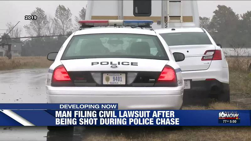 The suit seeks unspecified damages for the officer's alleged use of excessive and unreasonable...