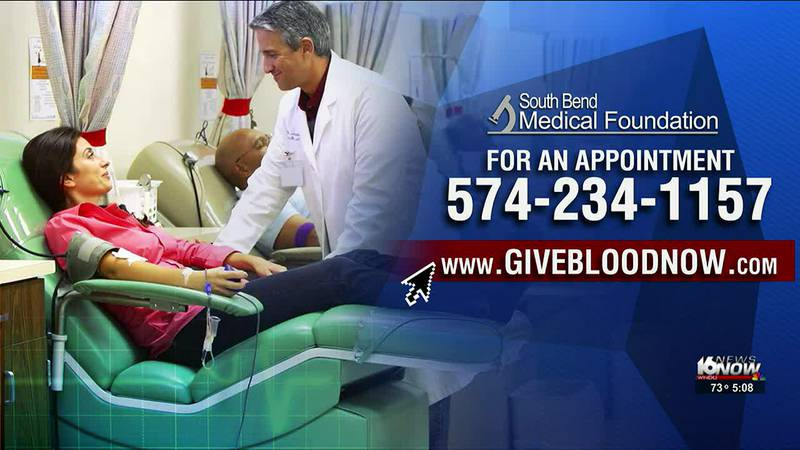 All types of blood are needed, as there is currently a blood shortage across the country.