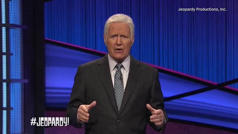 A Thanksgiving message recorded by Alex Trebek was shared by Jeopardy Productions, Inc.