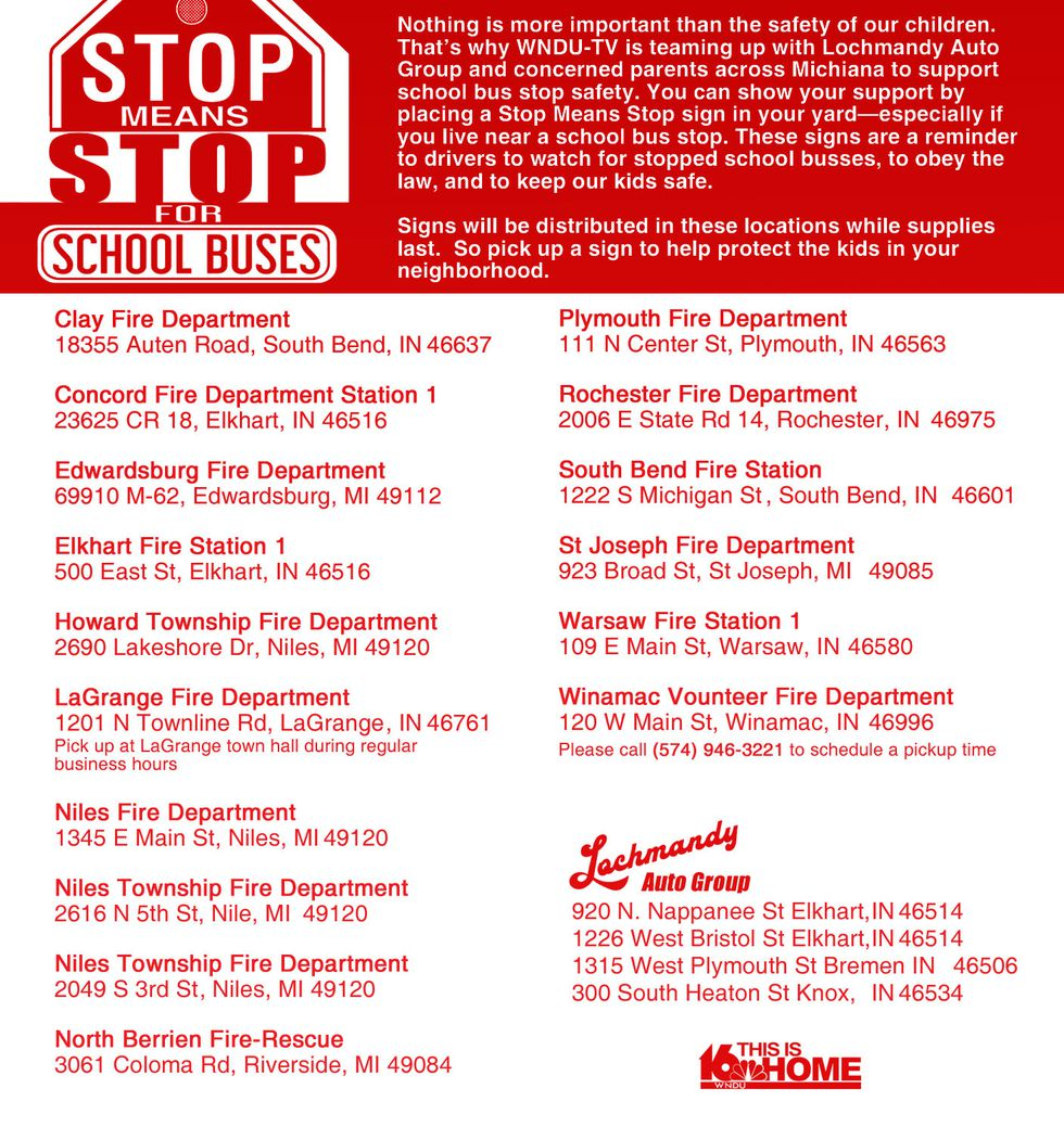 Stop Means Stop for School Buses