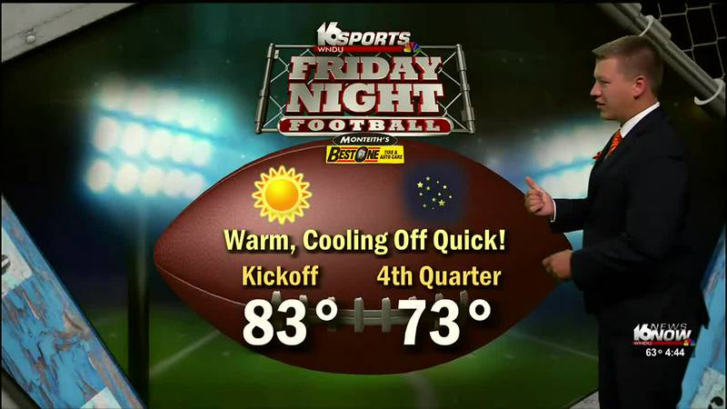 First Alert Forecast: Warm and Humid for Football and the Apple Fest
