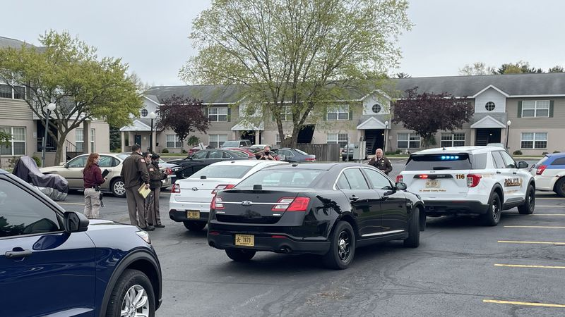 The call came from Emerald Pointe Apartments on Generations Drive, just northwest of Douglas...