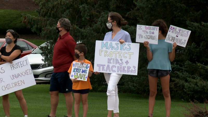 After the school board made their decision, some parents still want masks for students and staff.