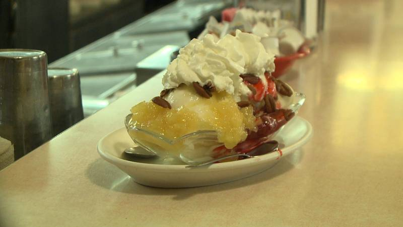 The popular dessert was created in 1904 by an apprentice at a pharmacy in Pennsylvania.