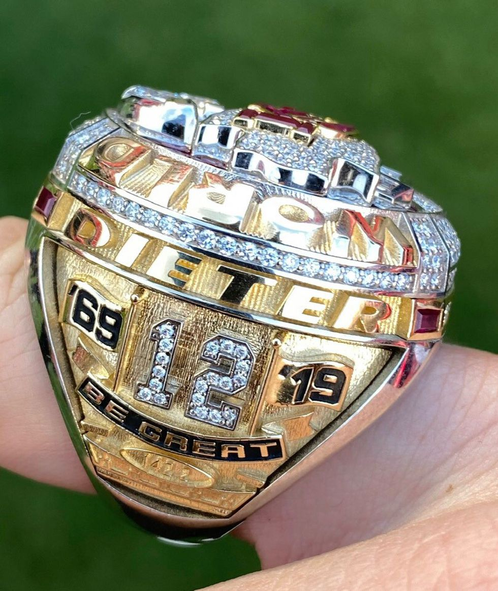 South Bend's Super Bowl Champ now has his Super Bowl ring