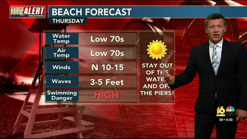 First Alert Forecast: Nice Stretch of Weather Ahead