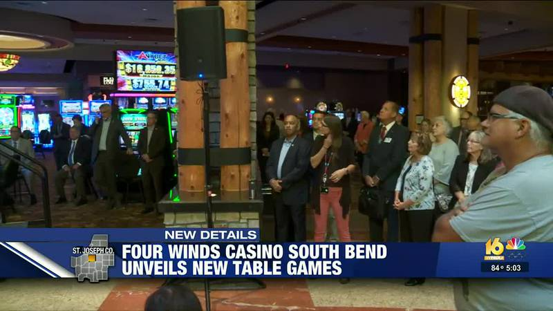 Four Winds Casino South Bend unveils new table games