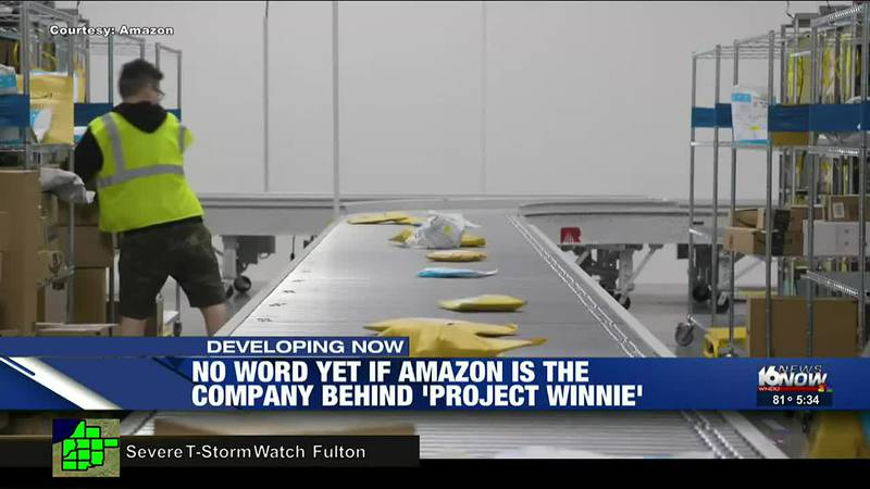 Rumors are swirling that Amazon could be the currently unnamed company behind the Winnie...