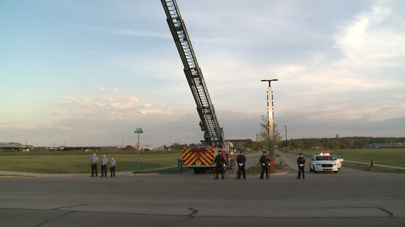 Friday night, members of the South Bend Police Department came together to pay tribute to the...
