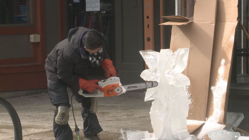 The City of Goshen hosted its annual Fire and Ice Festival Saturday afternoon.
