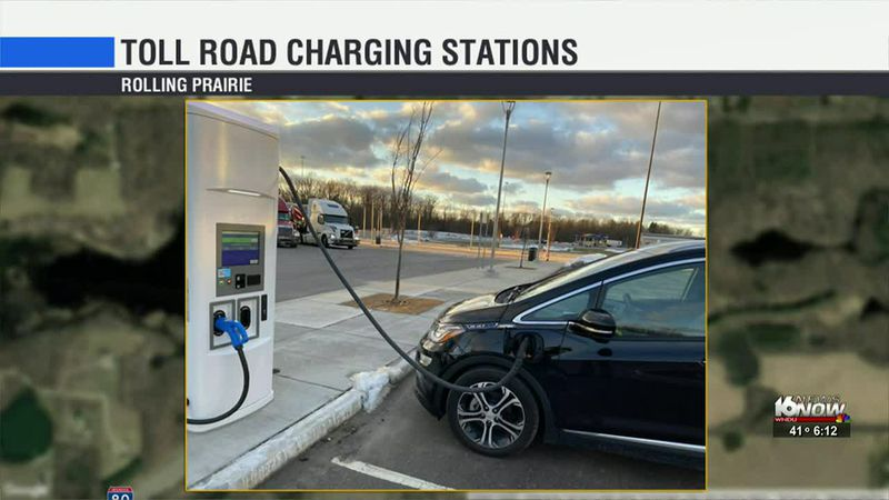 Electric charging stations open on Toll Road