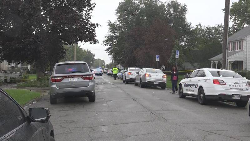 The victim has been identified as 30-year-old Sa'Sha Agnew of South Bend.