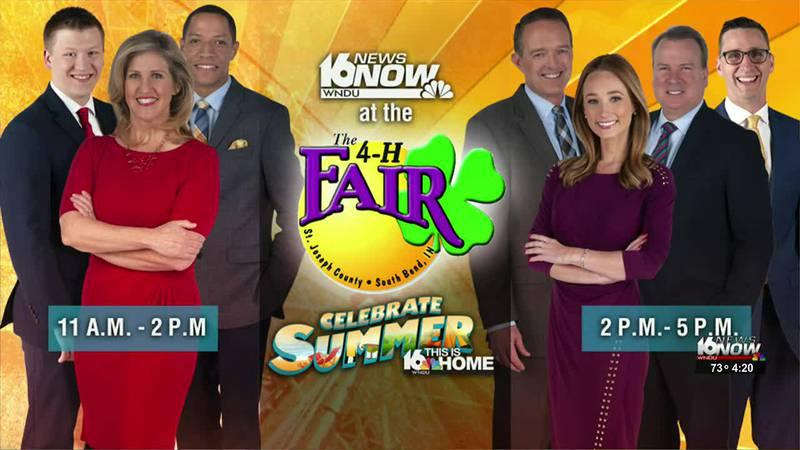 16 News Now celebrates summer at the St. Joseph County Fair