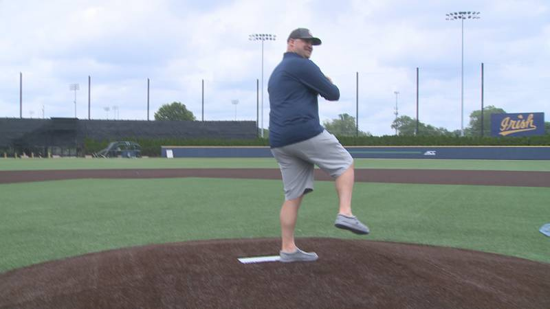 Notre Dame pitching coach Chuck Ristano to pitch to Trey Mancini in 2021 MLB Home Run Derby.