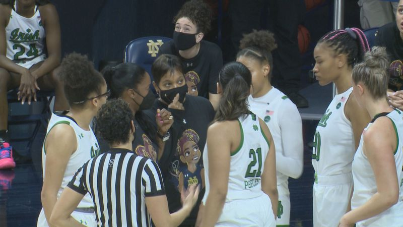 First year head coach Niele Ivey had an unconventional first year dealing with the pandemic,...
