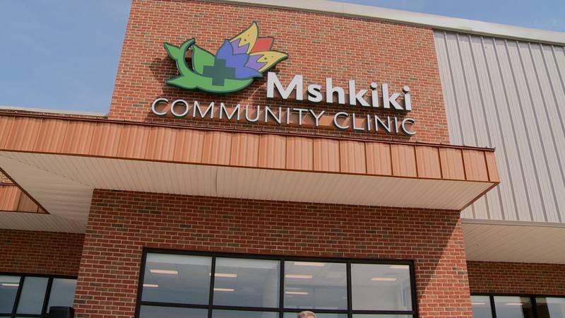 Pokagon Band of Potawatomi unveil its new Mshkiki Community Health Clinic at a ribbon cutting...