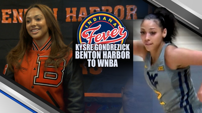 From Benton Harbor to the WNBA, Dreams were made today in the WNBA Draft and a childhood dream...