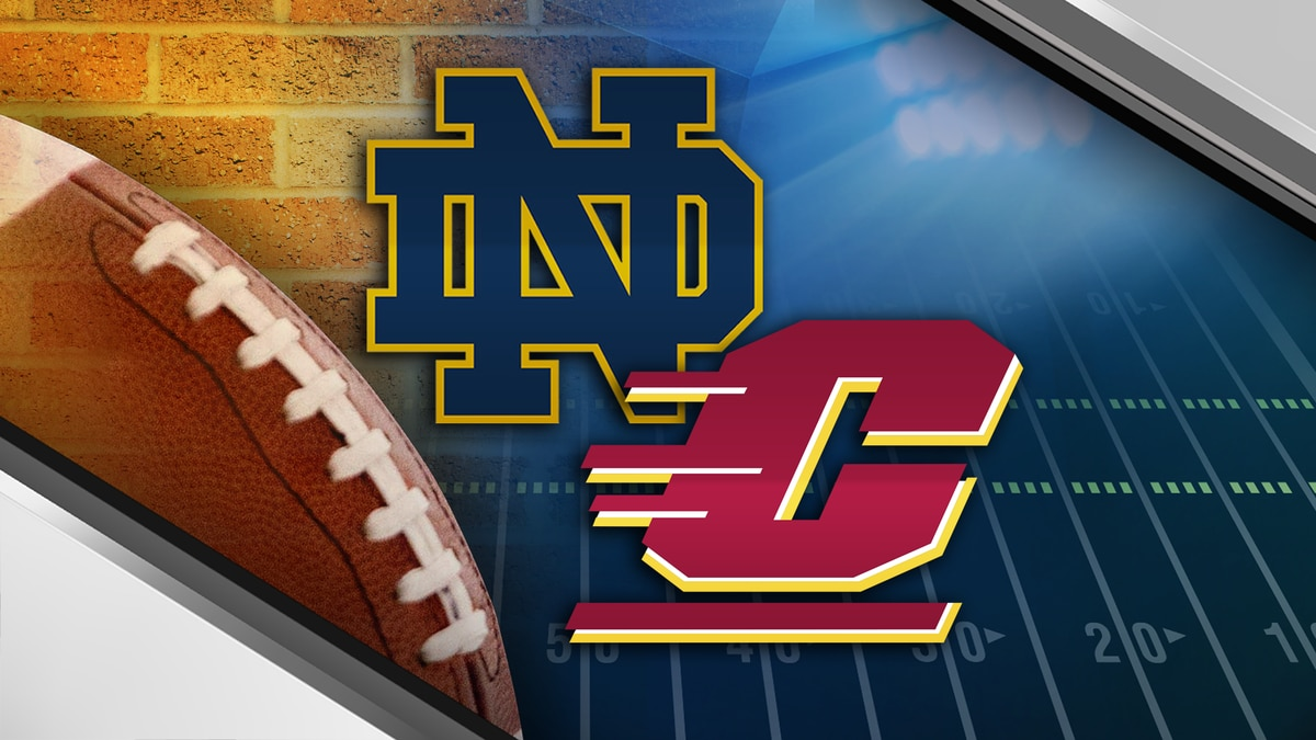 Notre Dame to play Central Michigan in 2023