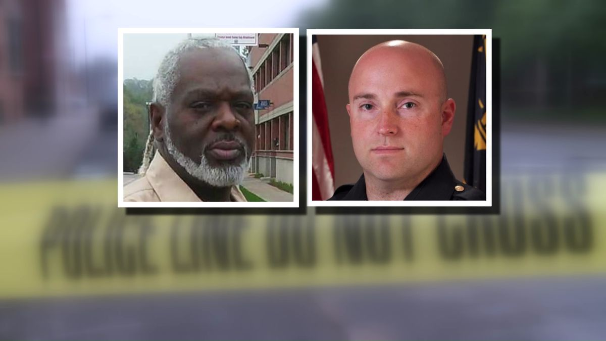 Eric Logan and former South Bend Police Sgt. Ryan O'Neill