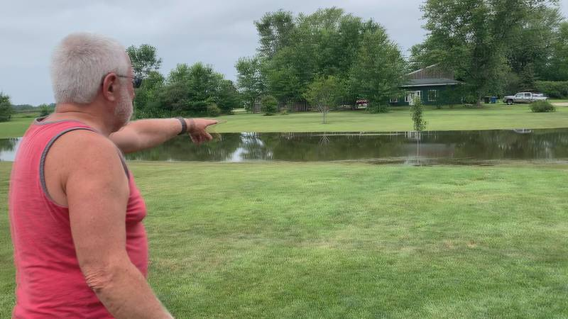 The severe weather and heavy rain has caused flooding and power outages in Michiana, and a lot...