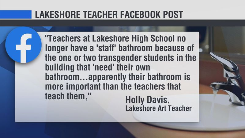 16 News Now spoke with the Lakeshore Public School Superintendent and he says he's angry about...