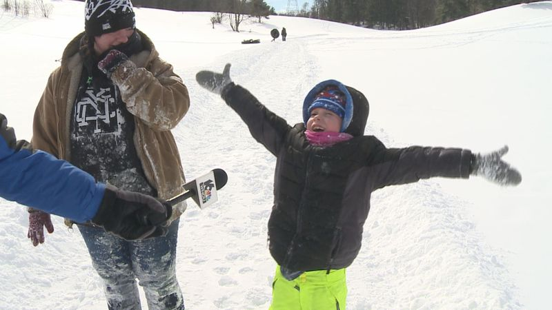 Where there is lots of snow are also lots of way to have fun. One of them: snow-tubing at...