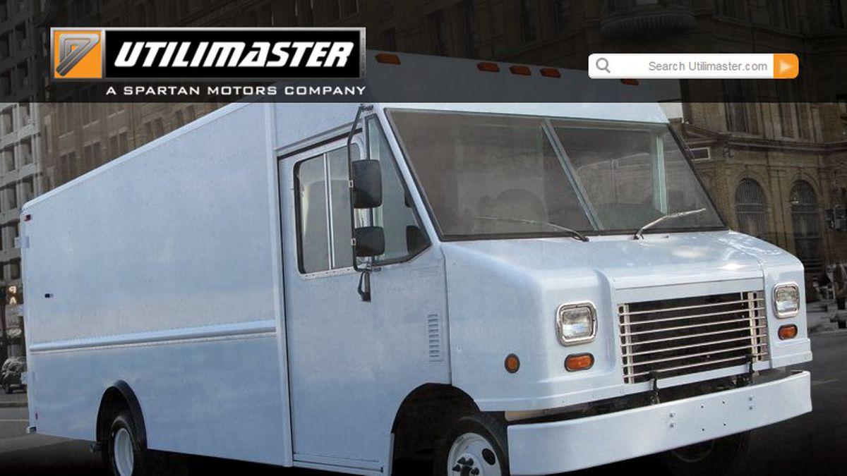 Screenshot from www.utilimaster.com