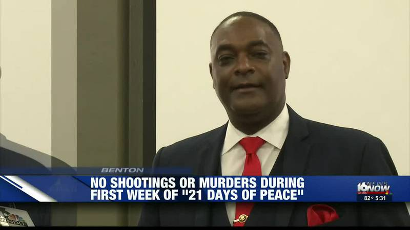 Benton Harbor's mayor says there haven't been any shootings or murders since they started their...