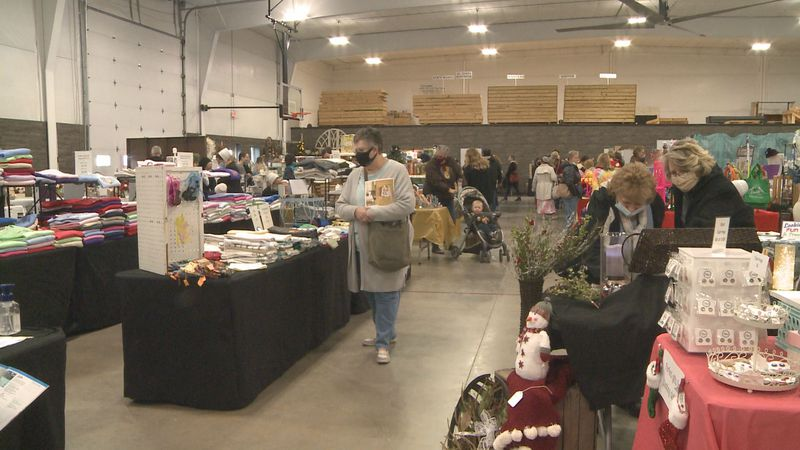 Craft vendors all across Michiana were able to showcase their work at the Nappanee Home for the...