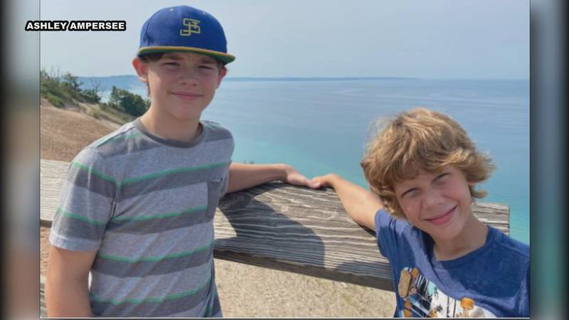 42-year-old Robert Keys was driving with his two sons in the car Monday evening when he lost...