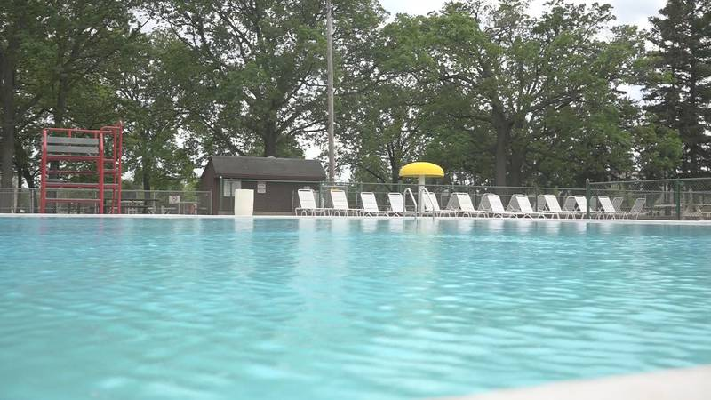 Community pools around the area are opening this season
