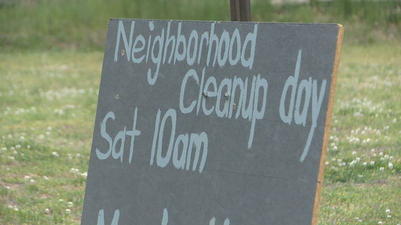 One Elkhart resident looking to make a difference in his community led a cleanup effort Saturday.