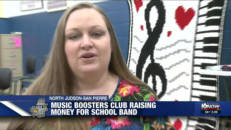 Music boosters club raising money for school band