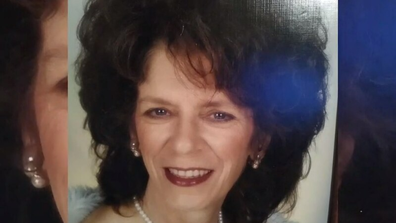 Family members mourn the death of Sandra Luedeman.