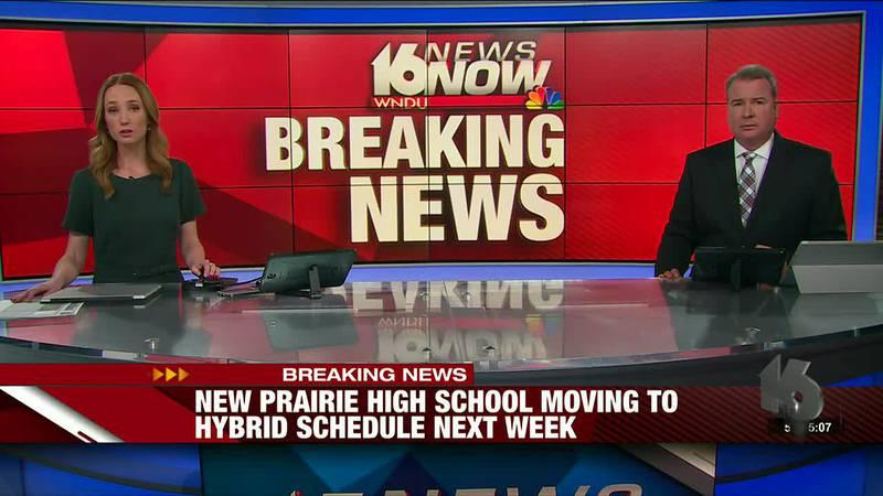 New Prairie High School moving to hybrid schedule next week