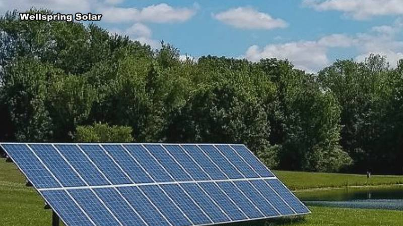 The City of Elkhart is considering the use of solar panels to reduce costs.