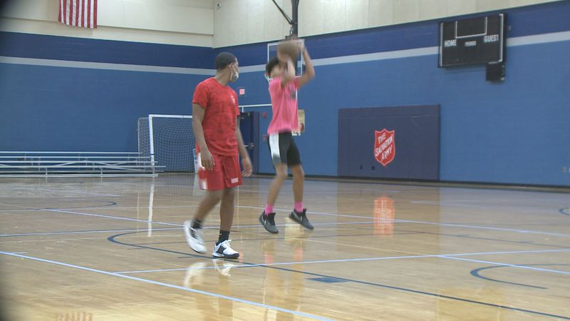 The Salvation Army Kroc Center is helping local boys develop basketball skills through a new...