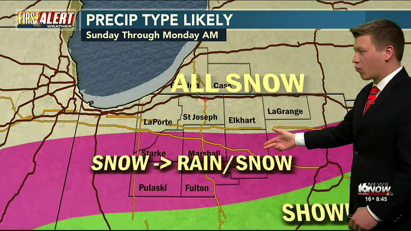 Another wintry system moves into Michiana. Another blanket of snow for some and other could see...