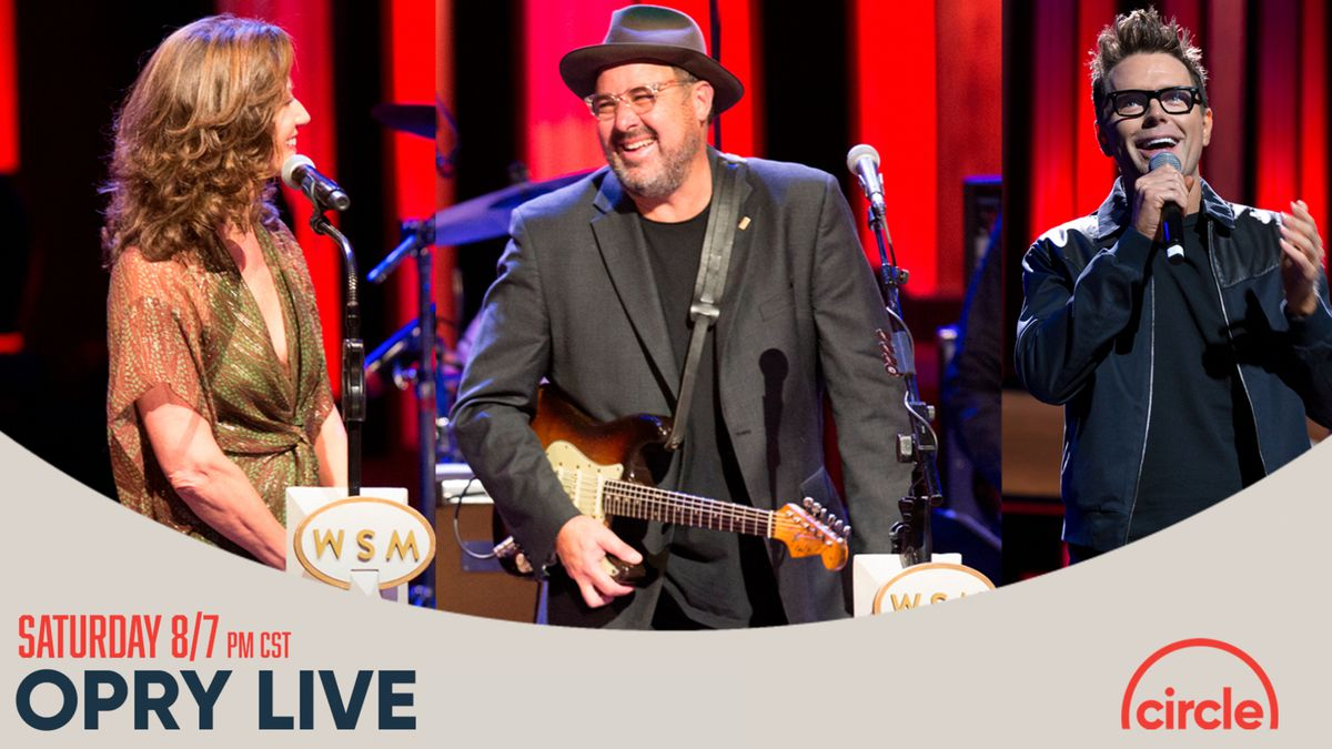 Vince Gill, Amy Grant and daughters Jenny Gill and Corrina Grant Gill will perform live at the Grand Ole Opry on Saturday. (Source: Circle)