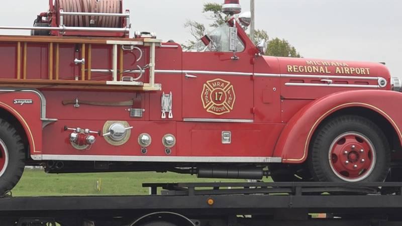 1956 fire truck returns to Michiana