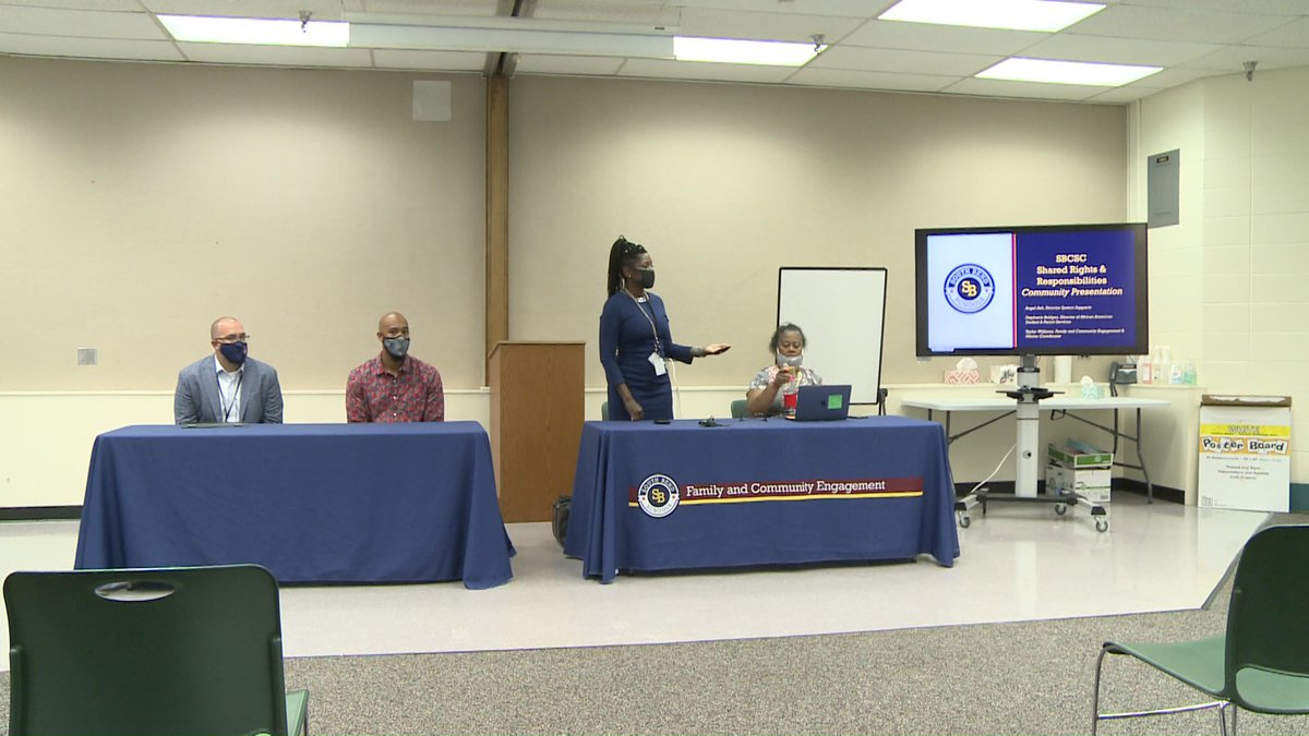 South Bend schools is wrapping up its final community meetings on behavior expectations for...