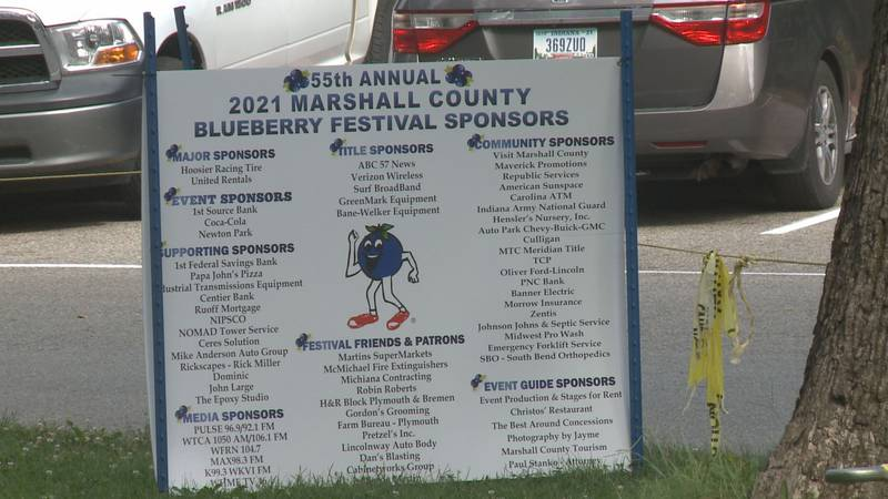 Blueberry Festival in Marshall County