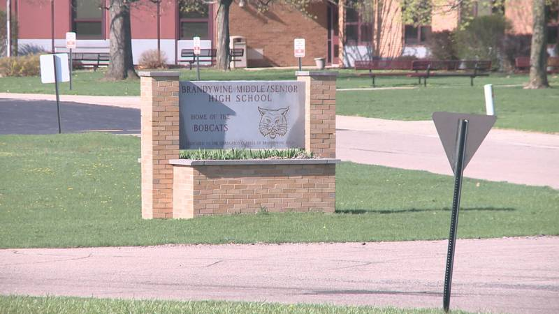 Police say they are investigating a Brandywine teacher who is accused of child solicitation.