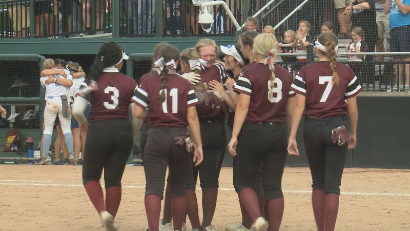 The Bucks came just short of capturing the first softball state title in school history.