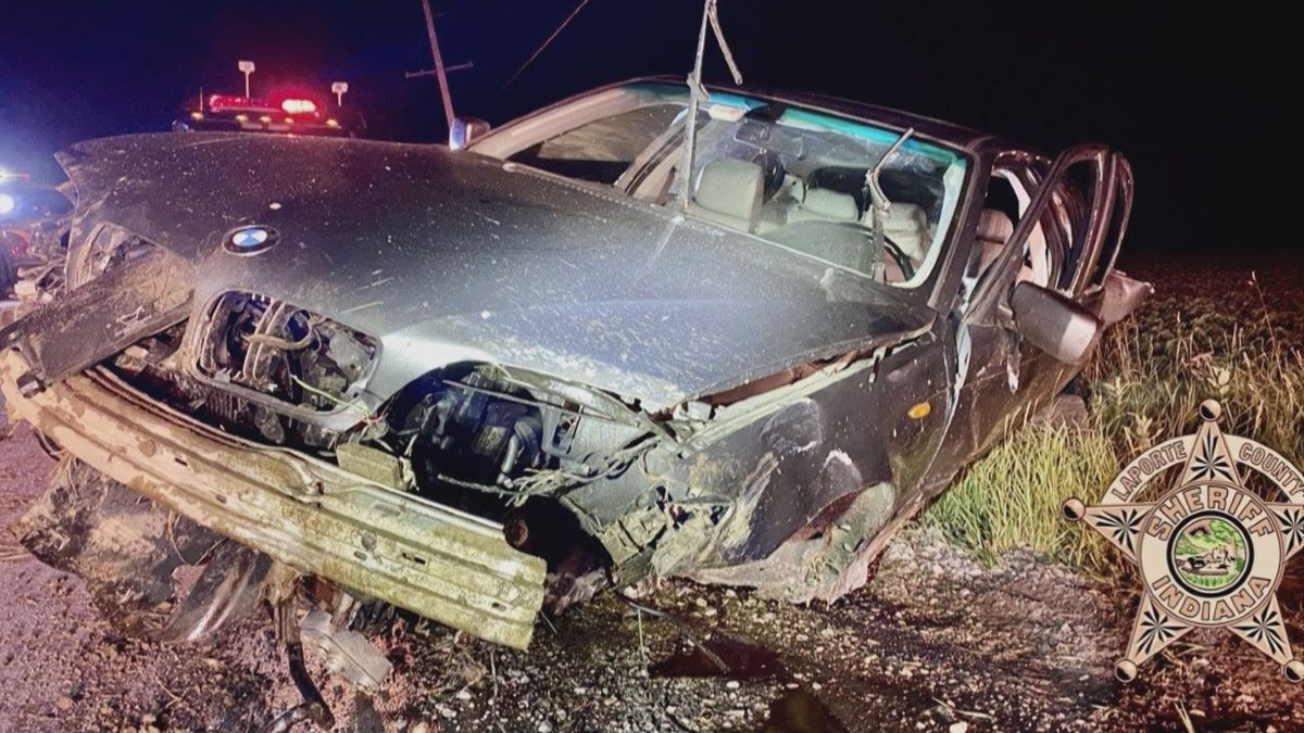 One man was airlifted to an area hospital early Saturday morning after a single vehicle crash.