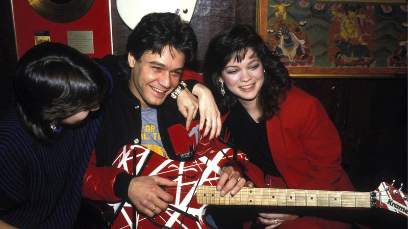 Eddie Van Halen died this month from cancer at 65. Valerie Bertinelli and Van Halen In 1985.