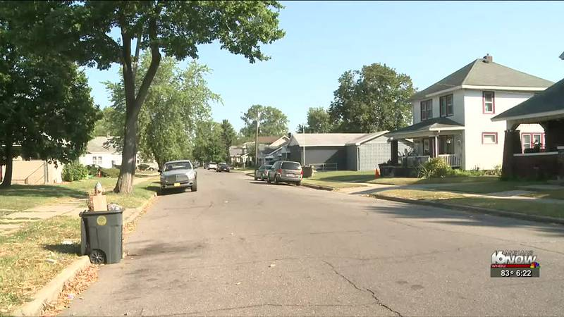 Police say it happened near the intersection of North Johnson and Rupel Street on the city's...
