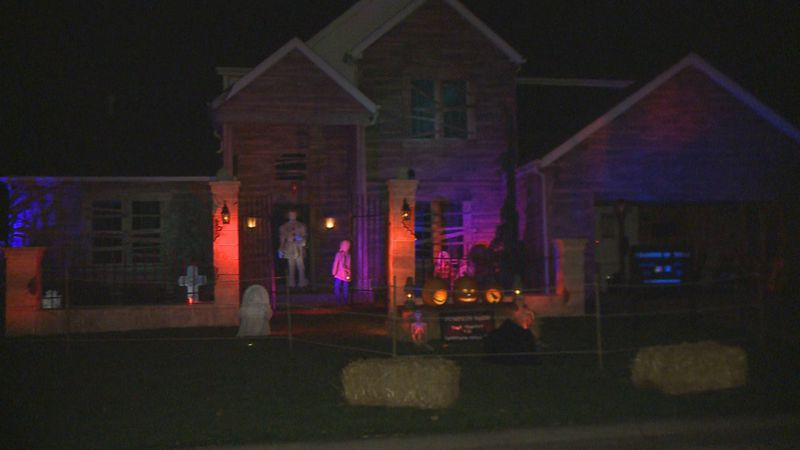 One Granger family is going all out for Halloween, and they want to include the community too.